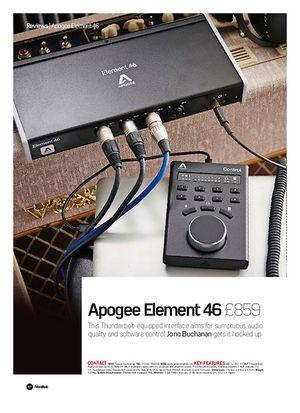 Future Music Apogee Element 46