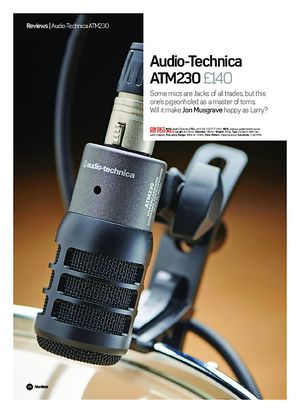 Future Music Audio-Technica ATM230