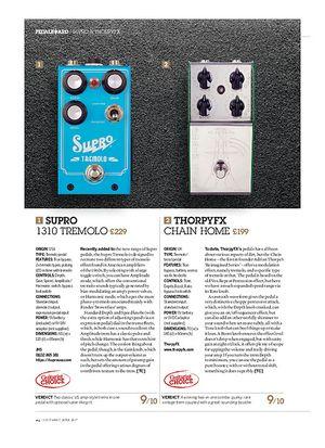 Guitarist Supro 1310 Tremolo