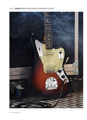 Guitarist Fender American Professional Jaguar