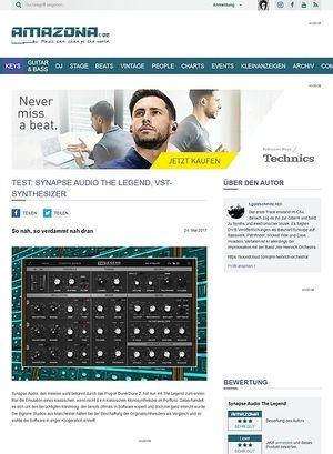 Amazona.de Synapse Audio The Legend