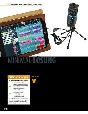 Professional Audio IK Multimedia iRig Mic Studio