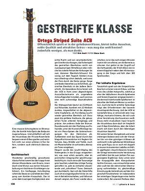 Gitarre & Bass Ortega Striped Suite ACB