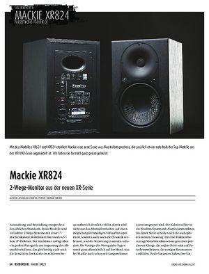 Sound & Recording Mackie XR824