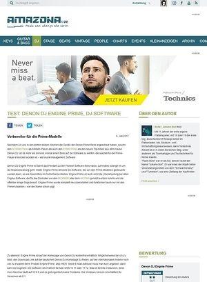 Amazona.de Denon DJ Engine Prime, DJ-Software