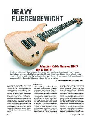 Gitarre & Bass Schecter Keith Merrow KM-7 MK II
