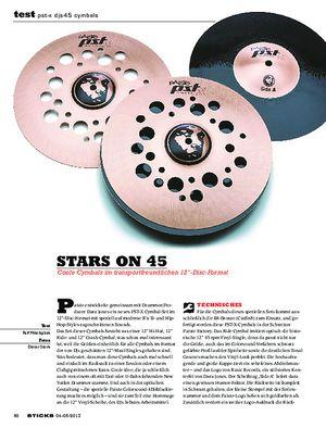 Sticks PST-X DJS45 Cymbals