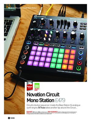 Future Music Novation Circuit Mono Station