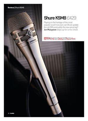 Future Music Shure KSM8