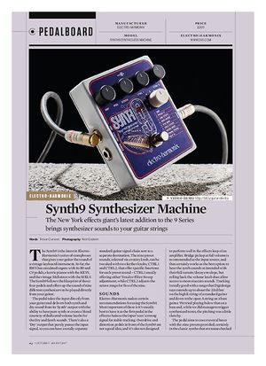 Guitarist Synth9 Synthesizer Machine