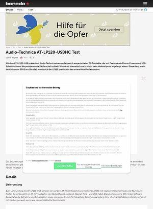 Bonedo.de Audio-Technica AT-LP120-USBHC