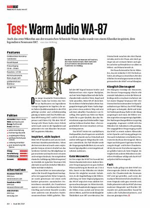 Beat Warm Audio WA-87