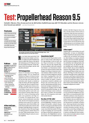 Beat Propellerhead Reason 9.5