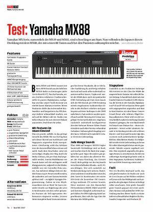 Beat Yamaha MX88