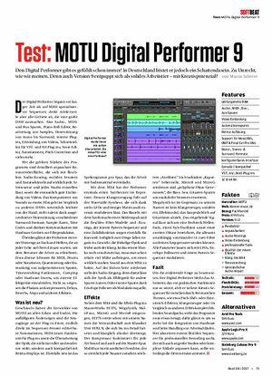 Beat MOTU Digital Performer 9