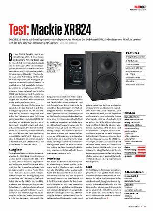 Beat Mackie XR824