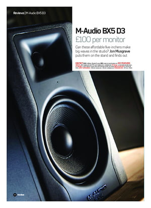 Future Music M-Audio BX5 D3