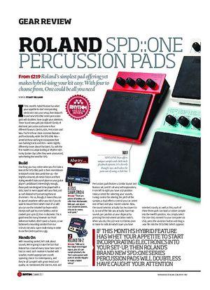 Rhythm Roland SPD:One Percussion Pads