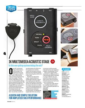 Total Guitar IK Multimedia Acoustic Stage