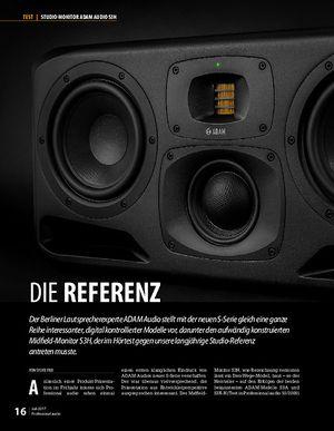 Professional Audio Adam Audio S3H