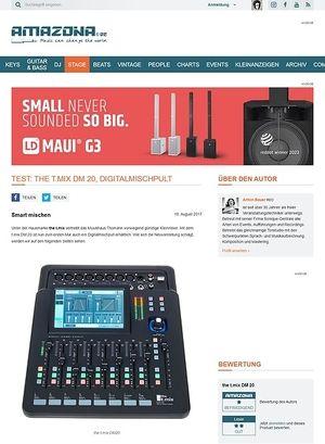 Amazona.de the t.mix DM 20
