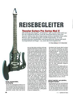 Gitarre & Bass Traveler Guitars Pro Series Mod X