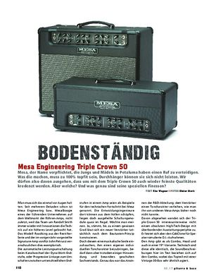 Gitarre & Bass Mesa Engineering Triple Crown 50