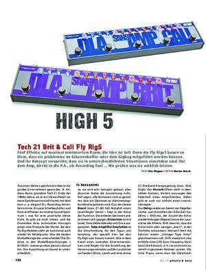 Gitarre & Bass Tech 21 Brit & Cali Fly Rig5