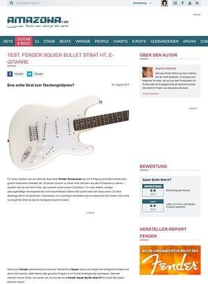 Amazona.de Fender Squier Bullet Strat HT