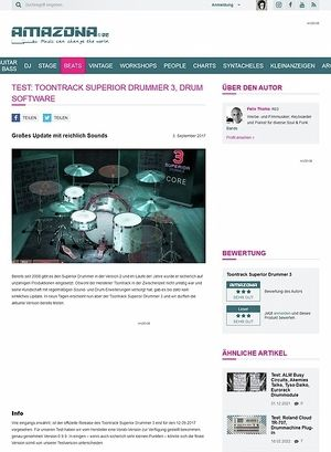 Amazona.de Toontrack Superior Drummer 3