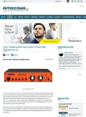 Amazona.de Warm Audio WA12 MKII