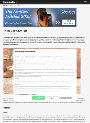 Bonedo.de Thalia Capo 200