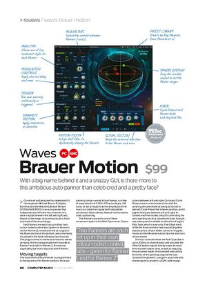 Computer Music Waves Brauer motion