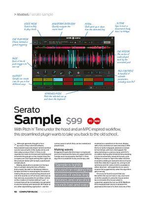 Computer Music Serato Sample