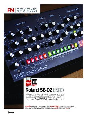 Future Music Roland SE-02
