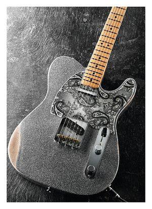 Guitarist Fender Brad Paisley Road Worn Telecaster