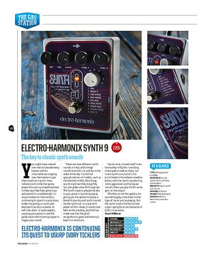 Total Guitar Electro-Harmonix Synth 9
