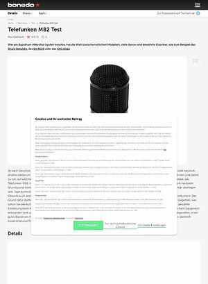 Bonedo.de Telefunken M82