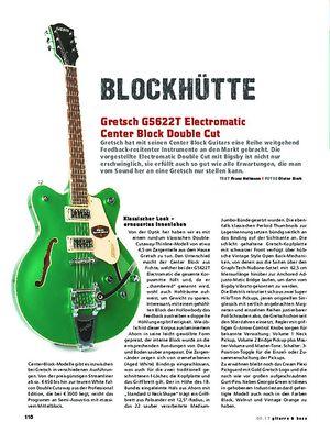 Gitarre & Bass Gretsch G5622T Electromatic Center Block Double-Cut