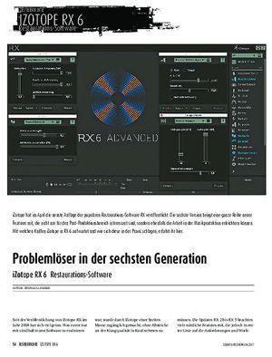 Sound & Recording iZotope RX 6