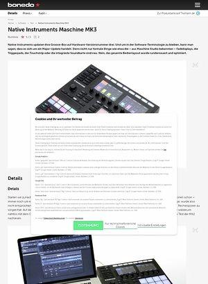 Bonedo.de Native Instruments Maschine MK3