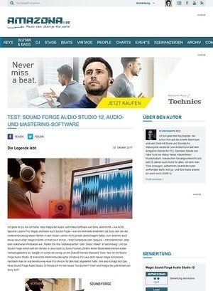 Amazona.de Sound Forge Audio Studio 12