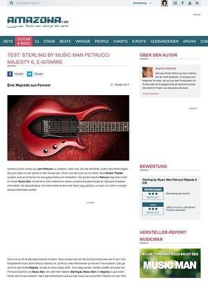 Amazona.de Sterling by Music Man Petrucci Majesty 6