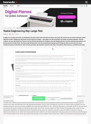 Bonedo.de Radial Engineering Key-Largo