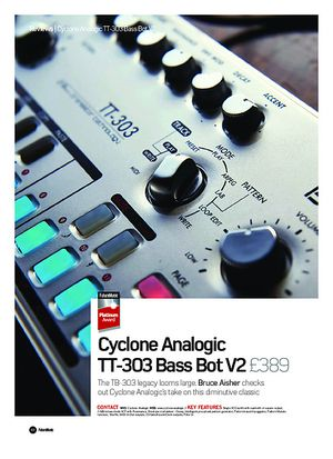 Future Music Cyclone Analogic TT-303 Bass Bot V2