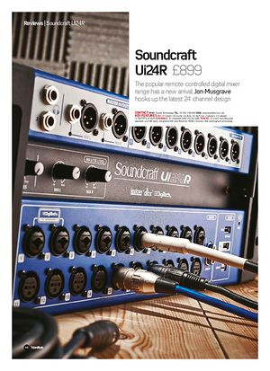 Future Music Soundcraft  Ui24R