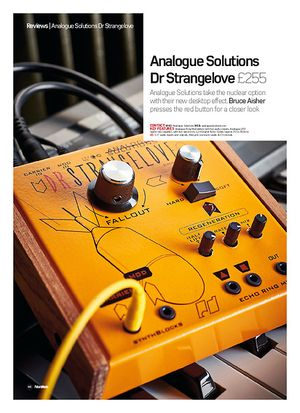 Future Music Analogue Solutions Dr Strangelove