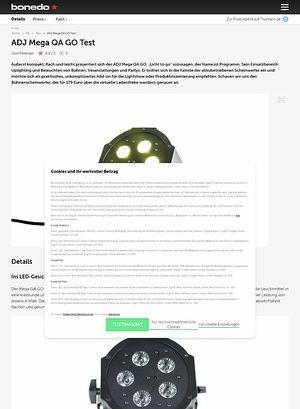 Bonedo.de ADJ Mega QA GO