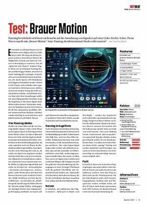 Beat Brauer Motion