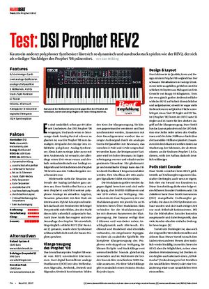 Beat DSI Prophet REV2